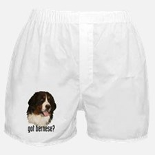got bernese? Boxer Shorts
