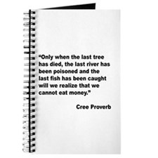 Cree Environment Proverb Journal
