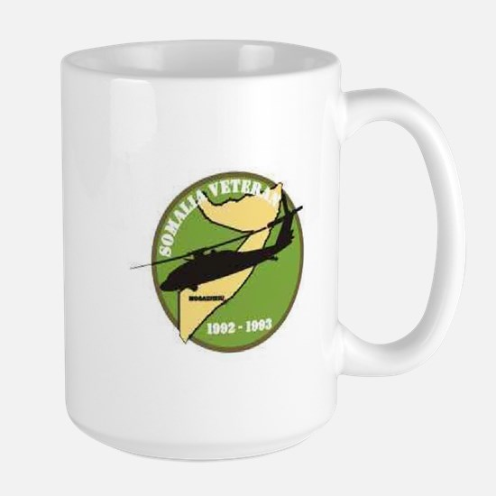 Somalia Veteran Patch... Mugs