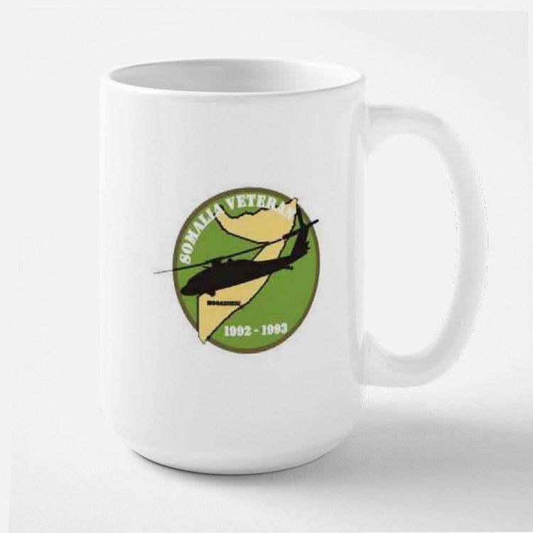 Somalia Veteran Patch... Mugs