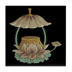 Chinese Blossoms Tile Coaster