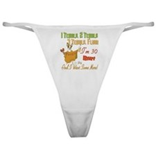 Tequila 30th Classic Thong