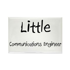 Little Communications Engineer Rectangle Magnet (1