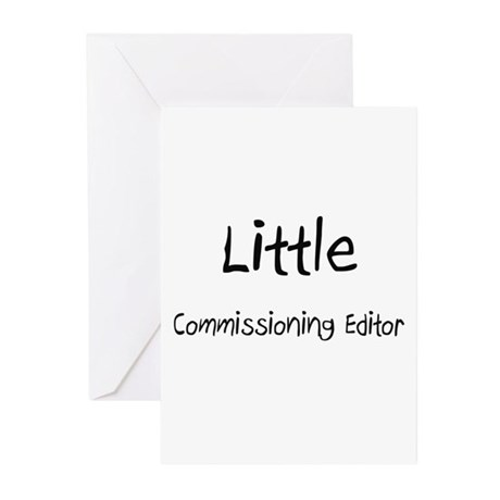 Little Commissioning Editor Greeting Cards (Pk of