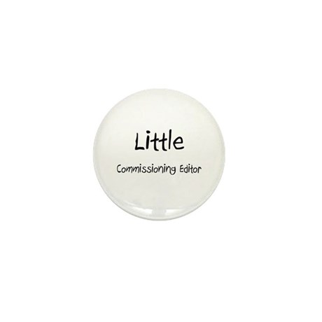 Little Commissioning Editor Mini Button