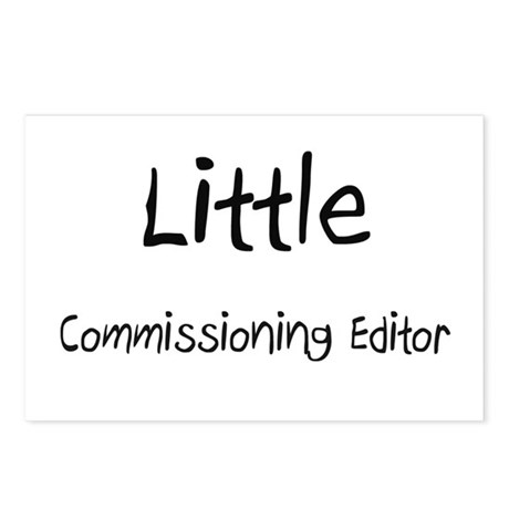 Little Commissioning Editor Postcards (Package of