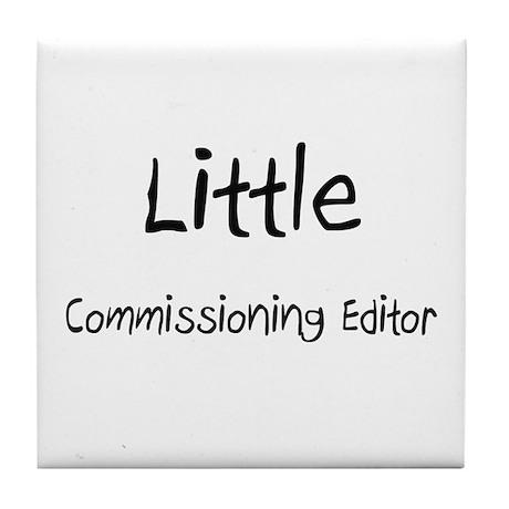 Little Commissioning Editor Tile Coaster