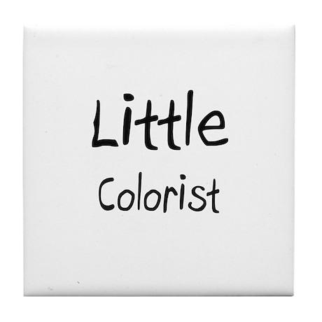 Little Colorist Tile Coaster