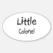Little Colonel Oval Decal