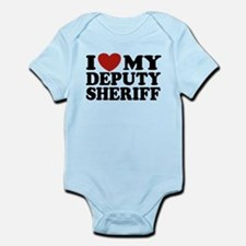 I Love My Deputy Sheriff Infant Bodysuit