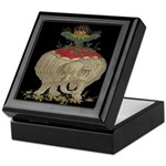 Decorative Asian Elephant Keepsake Box