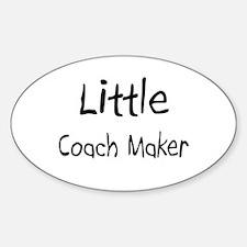 Little Coach Maker Oval Decal