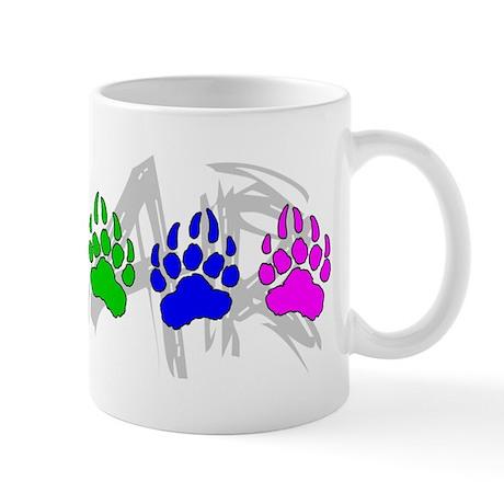 Rainbow Bear Tracks Mug