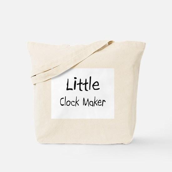 Little Clock Maker Tote Bag