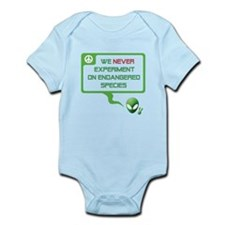 Aliens for Peace 1 - Endangered Species Infant Bod