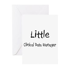 Little Clinical Data Manager Greeting Cards (Pk of