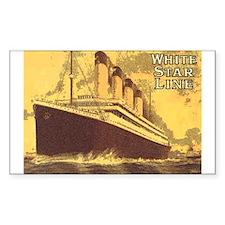 Titanic 1 Rectangle Decal