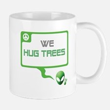 Aliens for Peace 5 - Tree Hugger Mug
