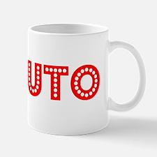 Retro Maputo (Red) Mug