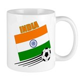 India soccer Small Mugs (11 oz)