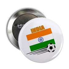 "India Soccer Team 2.25"" Button (10 pack)"