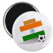 """India Soccer Team 2.25"""" Magnet (100 pack)"""