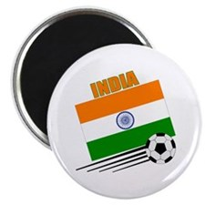 "India Soccer Team 2.25"" Magnet (10 pack)"