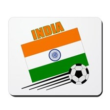 India Soccer Team Mousepad