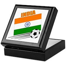 India Soccer Team Keepsake Box