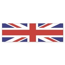 UNION JACK UK BRITISH FLAG Bumper Bumper Bumper Sticker