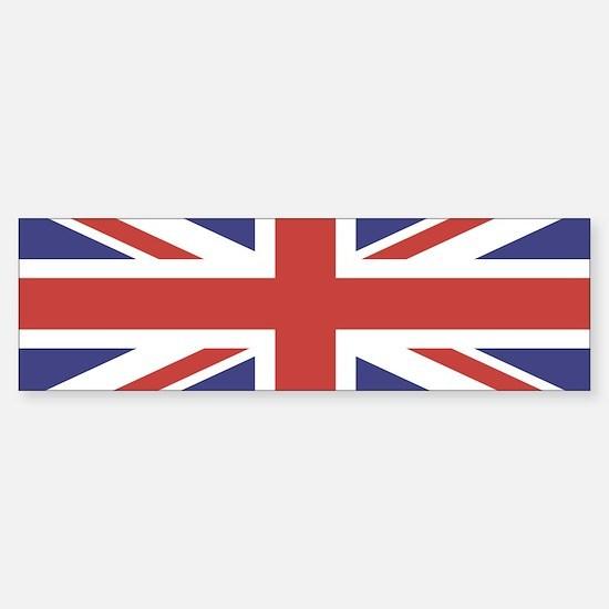 UNION JACK UK BRITISH FLAG Bumper Bumper Bumper Sticker