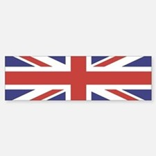 UNION JACK UK BRITISH FLAG Bumper Car Car Sticker