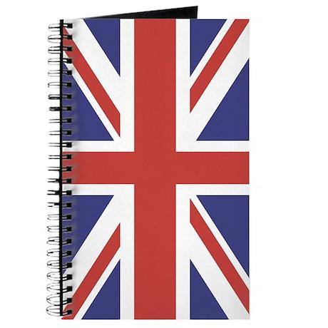 UNION JACK UK BRITISH FLAG Journal