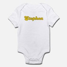 Retro Stephon (Gold) Onesie