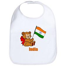 India Teddy Bear Bib