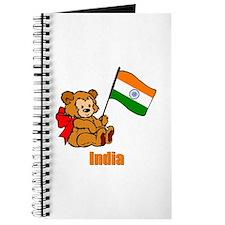 India Teddy Bear Journal