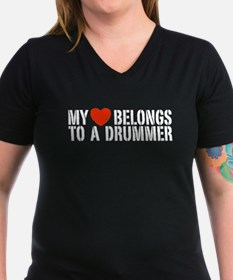 My Heart Belongs to a Drummer Shirt