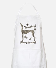 TOUCHED BY A GREYHOUND (BRNDLE) APRON