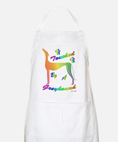 TOUCHED BY A GREYHOUND (RNBW) APRON