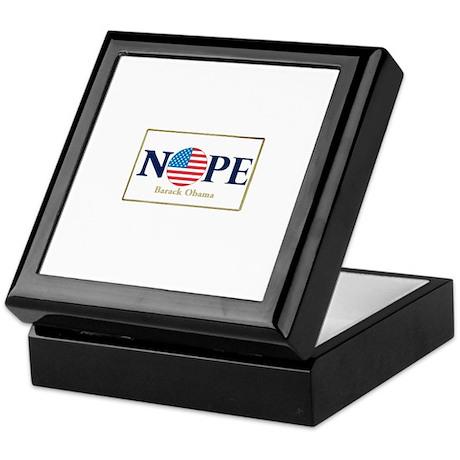 Obama NOPE Keepsake Box
