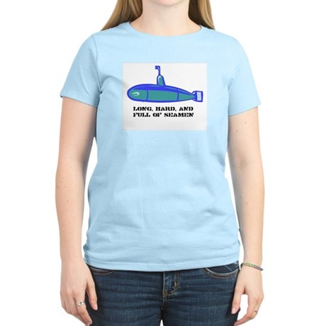 Full of Seamen Women's Pink T-Shirt