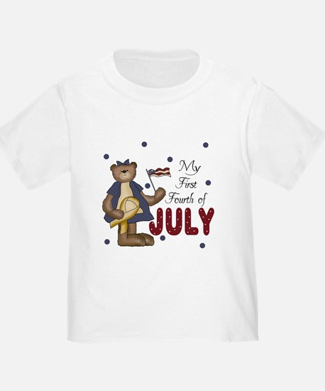 My First Fourth of July 4th T