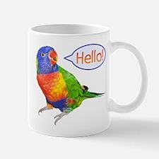Parrot Hello Mug
