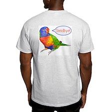 Parrot Hello/Goodbye Ash Grey T-Shirt