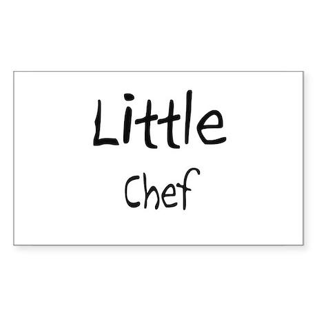 Little Chef Rectangle Sticker