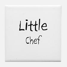 Little Chef Tile Coaster