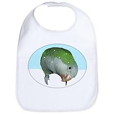 Snowy Quaker Parrot Bib