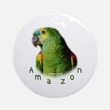 Amazon Parrot Ornament (Round)