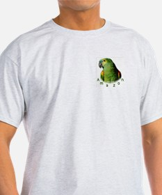 Amazon Parrot Ash Grey T-Shirt