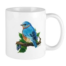 "Mug ""Berry Bluebird"""